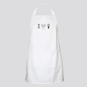 I heart Lamp -  BBQ Apron