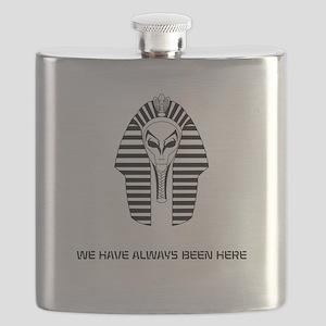 WE HAVE ALWAYS BEEN HERE Flask