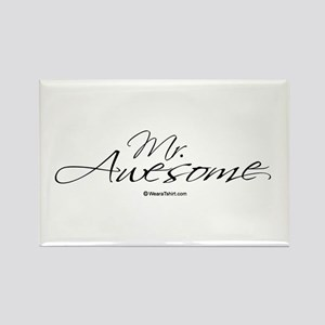 Mr. Awesome - Rectangle Magnet