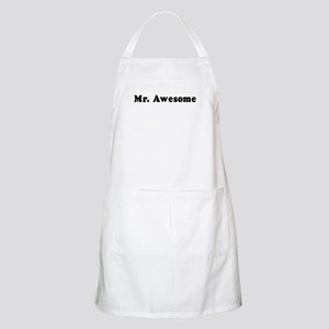 Mr. Awesome -  BBQ Apron