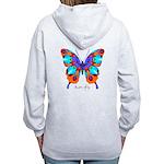Xtreme Butterfly B Women's Zip Hoodie