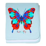 Xtreme Butterfly baby blanket