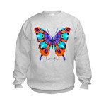Xtreme Butterfly Kids Sweatshirt