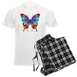 Xtreme Butterfly Men's Light Pajamas