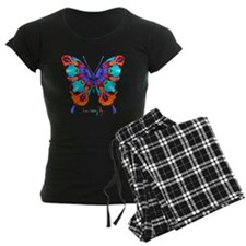 Xtreme Butterfly Women's Dark Pajamas