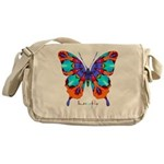 Xtreme Butterfly Messenger Bag