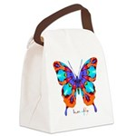 Xtreme Butterfly Canvas Lunch Bag