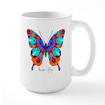 Xtreme Butterfly Large Mug