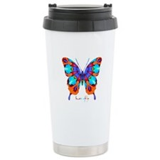 Xtreme Butterfly Stainless Steel Travel Mug