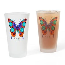 Xtreme Butterfly Drinking Glass