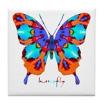 Xtreme Butterfly Tile Coaster