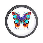 Xtreme Butterfly Wall Clock
