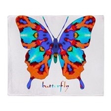 Xtreme Butterfly Throw Blanket