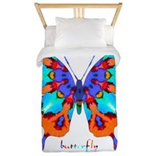 Xtreme Butterfly Twin Duvet