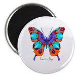 Xtreme Butterfly Magnet