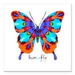 Xtreme Butterfly Square Car Magnet 3