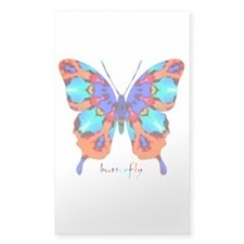 Xtreme Butterfly Sticker (Rectangle)