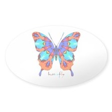 Xtreme Butterfly Sticker (Oval)