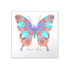 Xtreme Butterfly Square Sticker 3