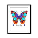Xtreme Butterfly Framed Panel Print