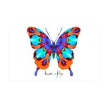 Xtreme Butterfly 35x21 Wall Decal