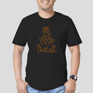 Dakar Rally Men's Fitted T-Shirt (dark)