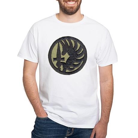 Legion Paratrooper Black T-Shirt White T-Shirt
