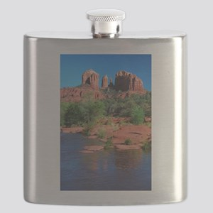 Cathedral Rock Sedona - Vertical Flask