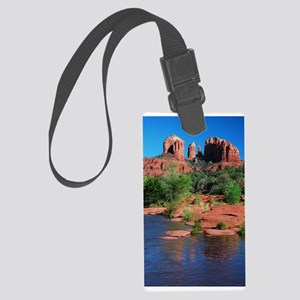 Cathedral Rock Sedona - Vertical Large Luggage