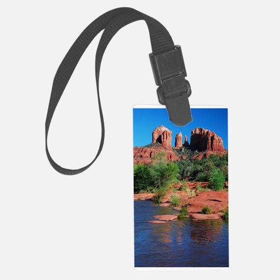 Cathedral Rock Sedona - Vertical.jpg Luggage Tag