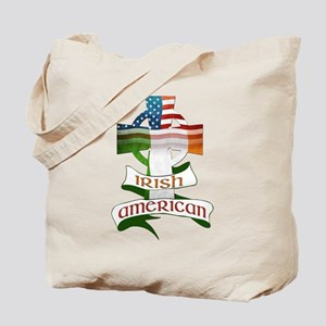 Irish American Celtic Cross Tote Bag