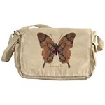 Union Butterfly Messenger Bag