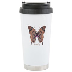 Union Butterfly Stainless Steel Travel Mug