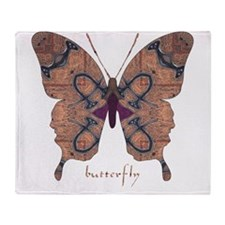 Union Butterfly Throw Blanket
