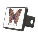 Union Butterfly Rectangular Hitch Cover