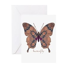 Union Butterfly Greeting Card