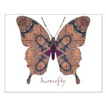 Union Butterfly Small Poster