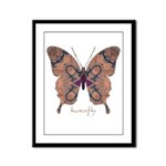 Union Butterfly Framed Panel Print
