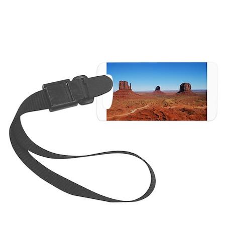 Monument Valley - horizontal.JPG Small Luggage Tag