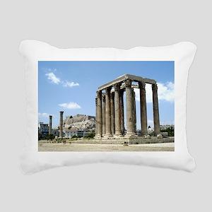 Temple of Zeus - from ground Rectangular Canva
