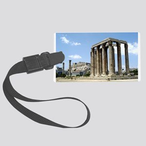 Temple of Zeus - from ground Large Luggage Tag