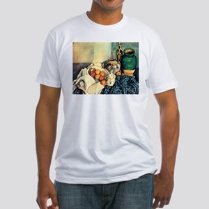 Paul Cezanne Still Life With Apples Fitted T-Shirt