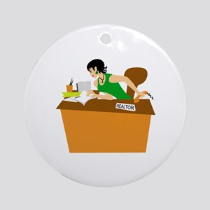 Office Ornament (Round)