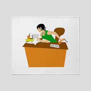 Office Throw Blanket