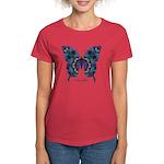 Festival Butterfly Women's Dark T-Shirt