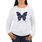 Festival Butterfly Women's Long Sleeve T-Shirt