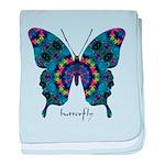 Festival Butterfly baby blanket