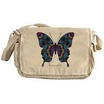 Festival Butterfly Messenger Bag