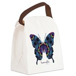 Festival Butterfly Canvas Lunch Bag