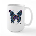 Festival Butterfly Large Mug